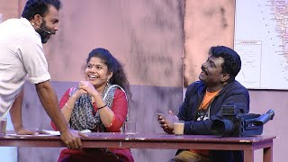 #ThakarppanComedy I Ex -policemen coffee shop!!! I Mazhavil Manorama