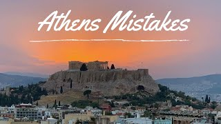 Athens Mistakes | Dont Do This In Athens, Greece 2020