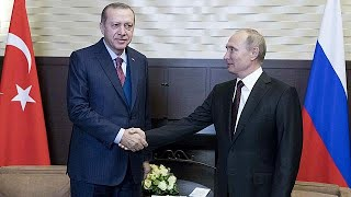 Путин и Эрдоган поговорили о торговле и Сирии