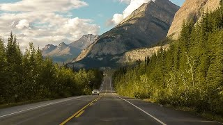 THE MOST BEAUTIFUL DRIVE IN CANADA! - Canadian Rockies Road Trip (7/8)