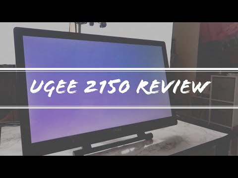 Ugee UG-2150 | Pen Display Tablet Review