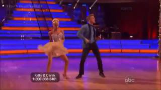 Kellie Pickler and Derek Hough dancing Jive, Dancing with the Stars, Season 16, Week 3 - Prom Night