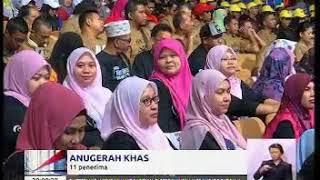BERITA NASIONAL (TV1) : Anugerah Tokoh Pekerja Negara (Eksekutif)