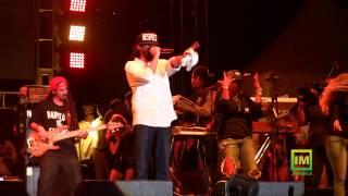 Damian Marley at Bob Marley 70 Birthday Concert (FULL) Pt 2