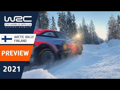 WRC 2021 第2戦のラリーフィンランド ラリー前のプレビュー動画が公開