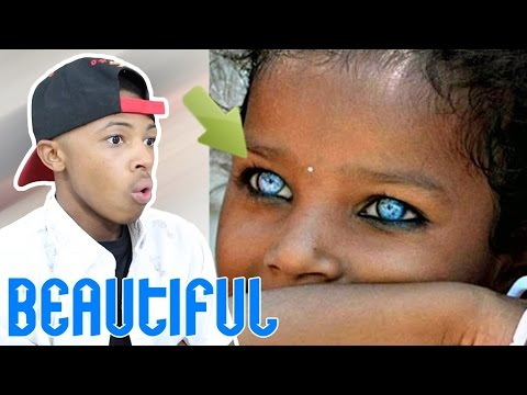 People With Most Beautiful Eyes Reaction