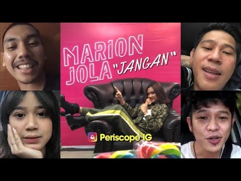 "Marion Jola ""Jangan"" feat Rayi Putra (Launching single)"