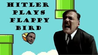 Hitler Plays Flappy Bird