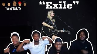 Taylor Swift - exile (feat. Bon Iver) (Official Lyric Video) REACTION