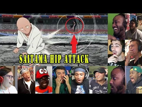 Fans react to Saitama Hip Attack, One Punch Man Season 2 Episode 7 Reaction Mashup