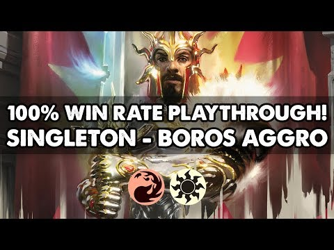 Download Mtg Standard Deck Tech Boros Aggro Video 3GP Mp4 FLV HD Mp3