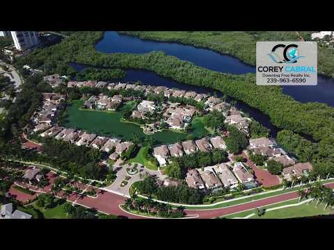Bay Colony Vizcaya Naples Florida 360 degree fly over video