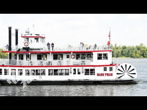 In Hannibal, Mo., the captain of the Mark Twain riverboat has seen everything