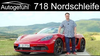 Nordschleife experience with the Porsche 718 Boxster GTS 2019 REVIEW - Autogefühl