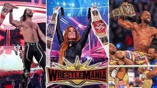 RESULTADOS WWE WRESTLEMANIA 35