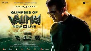 Glimpses of Valimai | Ajith Kumar | Yuvan Shankar Raja | Vinoth | Boney Kapoor | Zee Studios #4KUHD