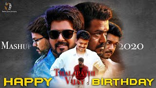 Thalapathy Vijay - Birthday Special Mashup 2020 | Dream Cuts |