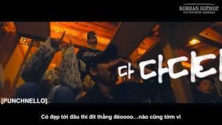 [KHiphopVN][VIETSUB] Eung Freestyle - LIVE, Sik K, Punchnello, Owen Ovadoz, Flowsik