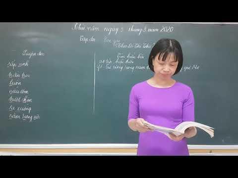 BÀI GIẢNG TRỰC TUYẾN KHỐI 5: TẬP ĐỌC: CON GÁI