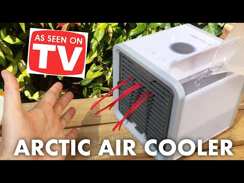 Arctic Air Cooler - Personal Air conditioner 'Review, Test, Unboxing'