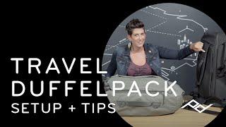 Peak Design Travel Duffelpack 65L: Setup + Tips