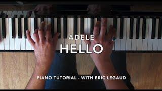 Hello (Adele) - Easy Piano Lesson Tutorial