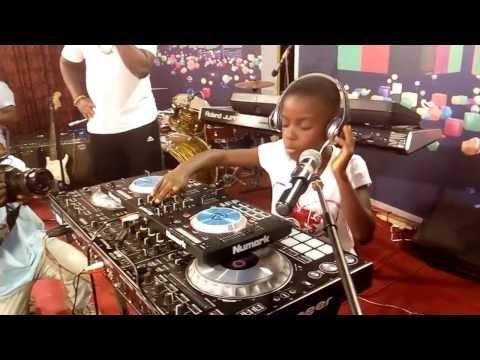 9 Year Dj Switch Surprises People at Ghana Dj Awards 2017