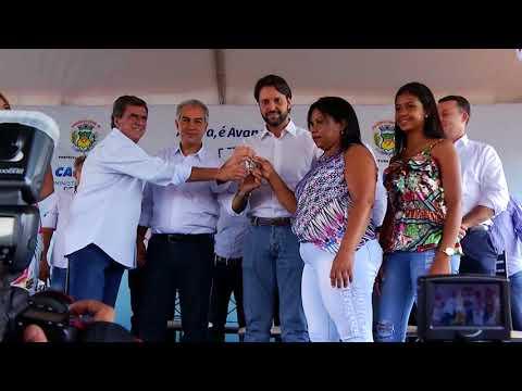 Entrega de moradias para mais de 300 famílias em Aparecida do Taboado