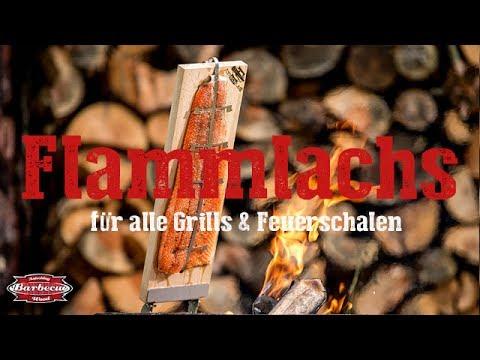 Flammlachsbrett Räucherbrett inkl Edelstahl Halterung f Feuerschale//Grill