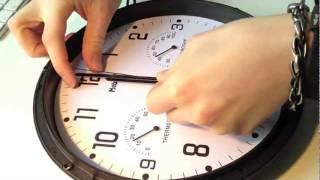 Uhren rückwärts laufen lassen DIY
