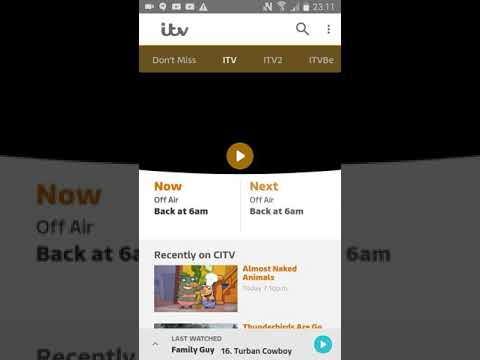 A Look Through The ITV Channel (ITV Hub)