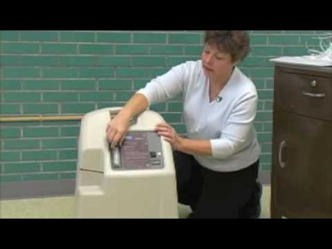 O2 - Using The Oxygen Concentrator How to use your concentrator