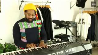 "PJ Morton Performing ""GUMBO""  Live"