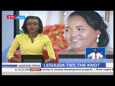 Samburu West MP Naisula Lesuuda weds love of her life