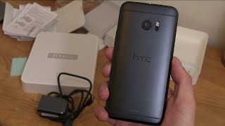 HTC 10 Unboxing and Impressions