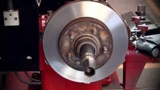 Brake Lathe -- Resurface Disc Rotors and Brake Drums with Ranger BendPak