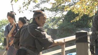 六角精児がアクションに奮闘映画『超高速!参勤交代リターンズ』特別メイキング映像