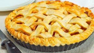 Яблочный пирог из слоеного теста. Рецепт от Всегда Вкусно!