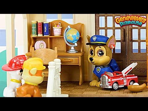 Paw Patrol get a New House & Go to the Shopping Mall - Learning Video for Kids!