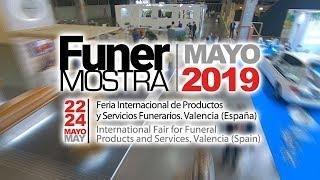 Vídeo completo de la feria funeraria de Valencia Funermostra 2019