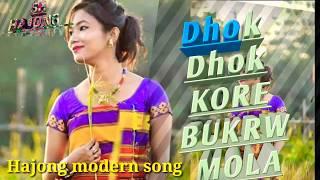 New Hajong Song Video    Dhok Dhok Kore Bukrw Mola