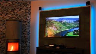 build a TV LED Wall