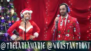 "Anthony & Carla Marie - ""Walking In a Winter Wonderland"" 