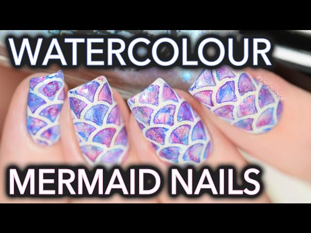 Watercolour-mermaid-nail-art-so