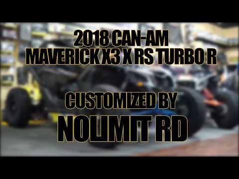 2018 Can-Am Maverick X3 X rs Turbo R in Elk Grove, California