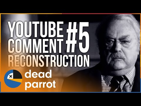 Two mature male actors re-enact Youtube comment arguments in black and white short films.