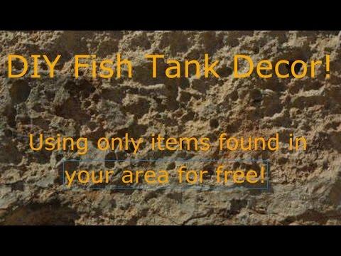 diy natural aquarium decoration tips.
