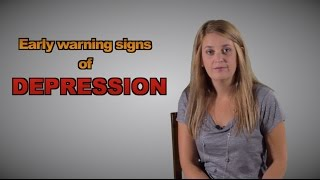 Early warning signs of depression - Max Speaks