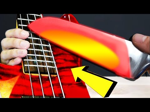 EXPERIMENT Glowing 1000 degree KNIFE Meets BASS