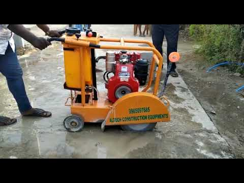 Concrete Cutter With 5HP GREAVES ENGINE